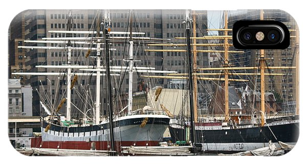 South Street Seaport Pioneer IPhone Case
