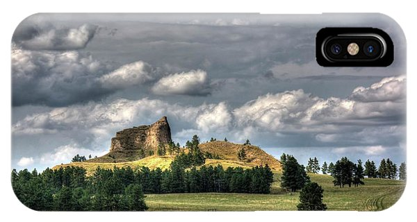Belltower Butte IPhone Case