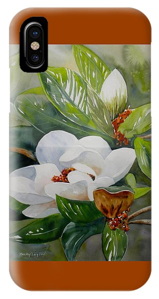 Southern Magnolia IPhone Case