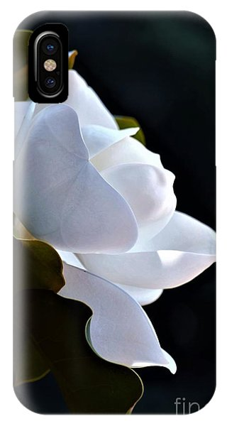 Southern Magnolia Profile IPhone Case