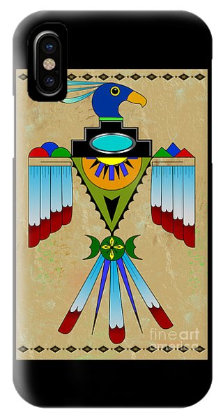 Southwest Bird Symbol IPhone Case