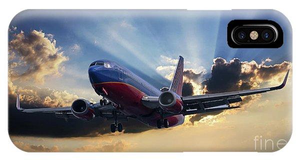 Southwest Dramatic Rays Of Light IPhone Case
