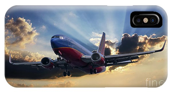 Southwest Dramatic Rays Of Light IPhone Case