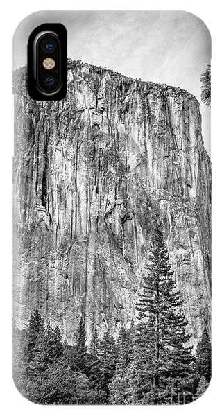 Southwest Face Of El Capitan From Yosemite Valley IPhone Case