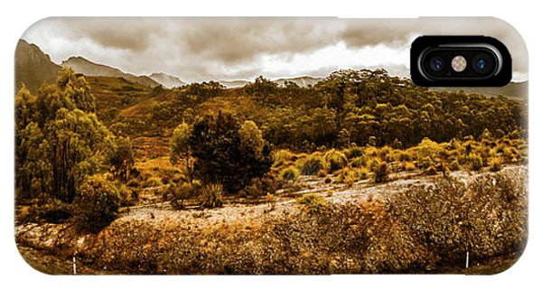 Distant iPhone Case - Southwest National Park Tasmania by Jorgo Photography - Wall Art Gallery