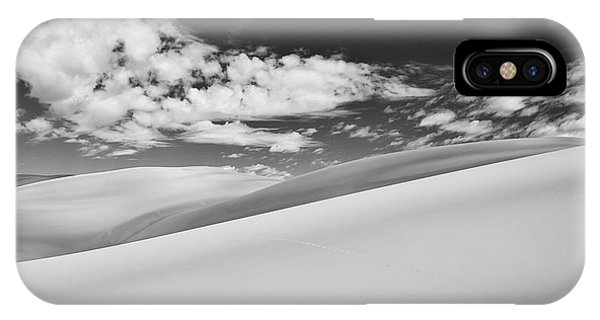 Southwest Sands Of Colorado In Black And White IPhone Case
