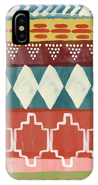 Pattern iPhone Case - Southwestern 1- Art By Linda Woods by Linda Woods