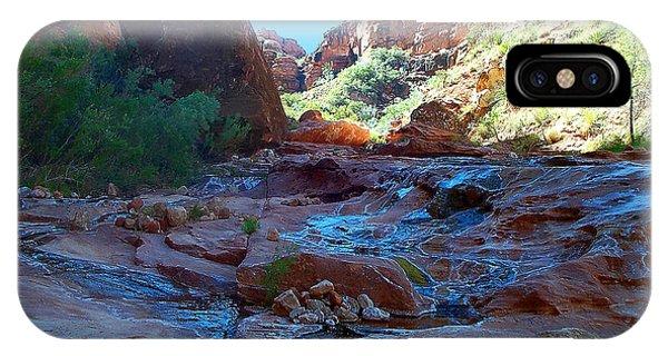 Sowats Creek Kanab Wilderness Grand Canyon National Park IPhone Case