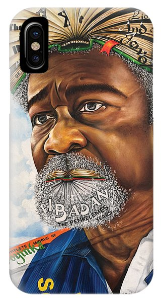 Soyinka An African Literary Icon IPhone Case