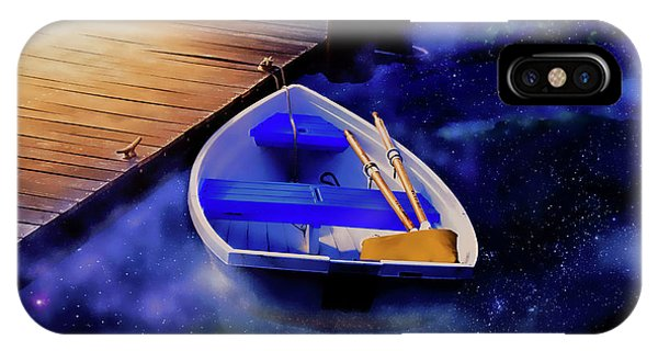 Space Boat IPhone Case