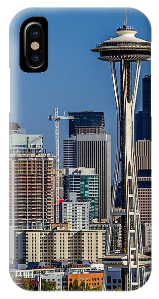 Space Needle And Seattle Skyline A IPhone Case
