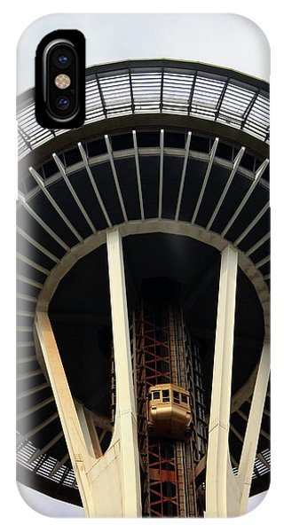 Seattle iPhone Case - Space Needle- By Linda Woods by Linda Woods