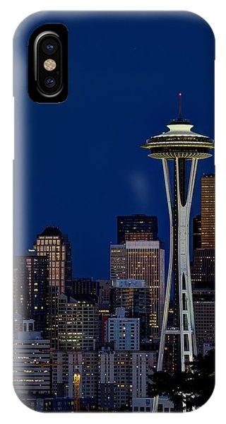 Space Needle IPhone Case
