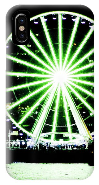 Space Needle Ferris Wheel IPhone Case