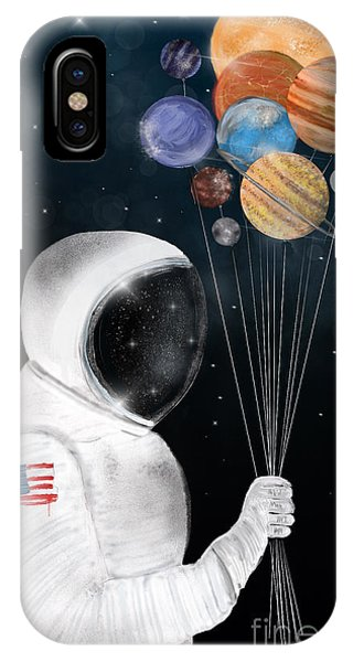 Solar System iPhone Case - Space Party by Bri Buckley