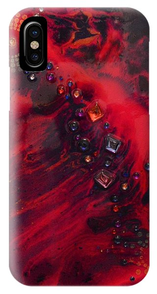 Space Poppies IPhone Case