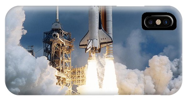 Space Shuttle Launching IPhone Case