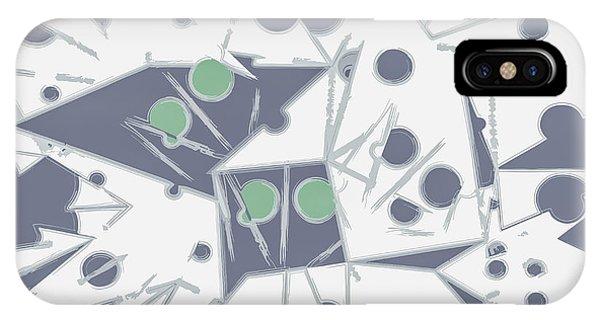 Space Warp  IPhone Case