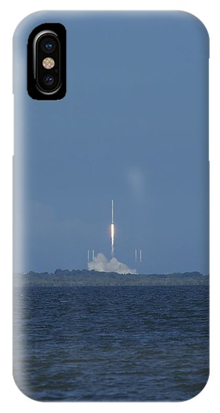 Spacex Crs6 Liftoff IPhone Case
