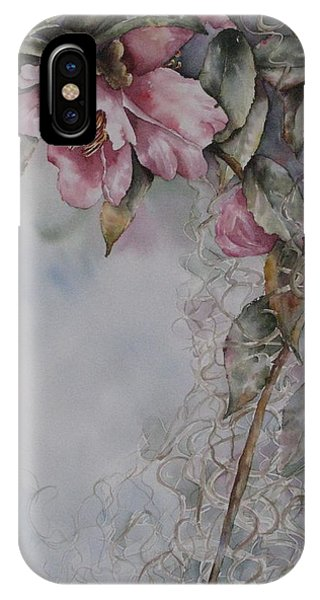 Spanish Camellias IPhone Case