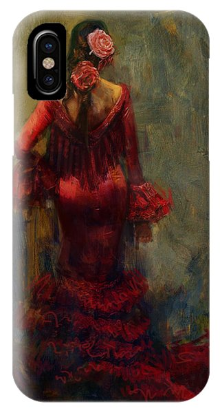 Tango iPhone Case - Spanish Culture 22 by Corporate Art Task Force