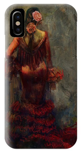 Tango iPhone Case - Spanish Culture 22b  by Corporate Art Task Force