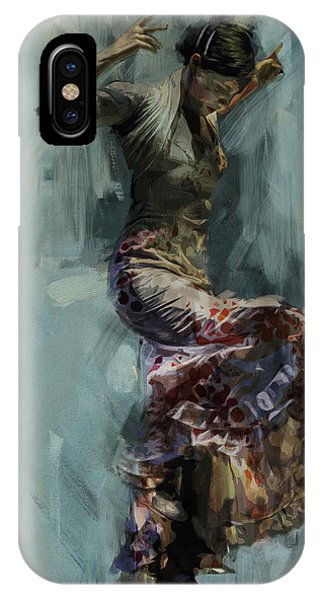 Tango iPhone Case - Spanish Culture 9 by Corporate Art Task Force