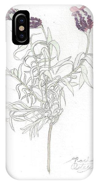 Spanish Lavender IPhone Case