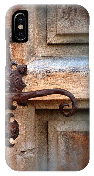 Spanish Mission Door Handle IPhone Case