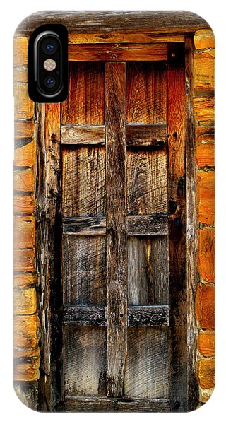 Spanish Mission Door IPhone Case