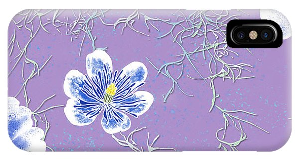 Lavender Spanish Moss Tile IPhone Case