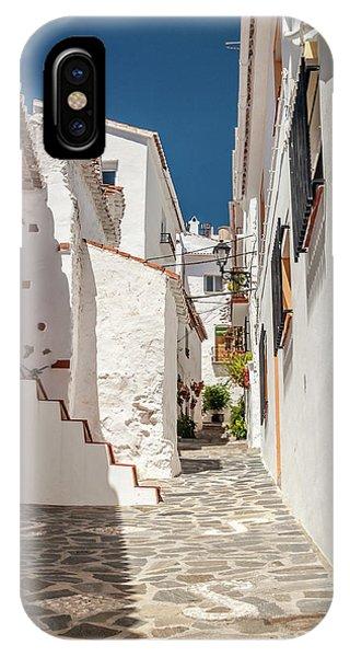 Spanish Street 1 IPhone Case
