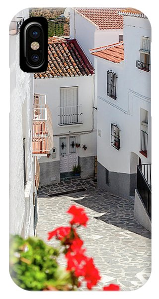Spanish Street 3 IPhone Case