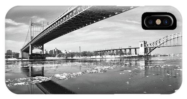 Spanning Bridges IPhone Case
