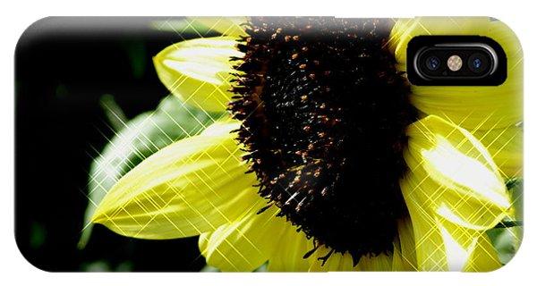 Sparkle Sunflower IPhone Case