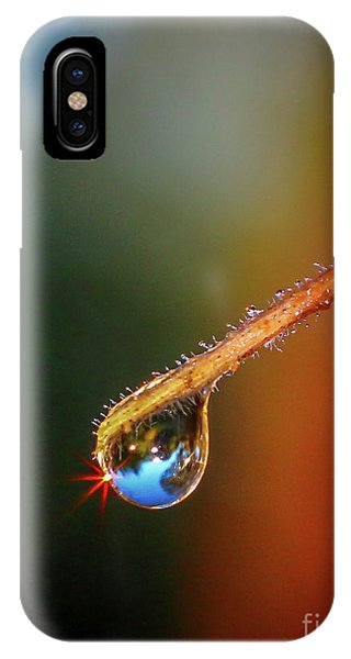 Sparkling Drop Of Dew IPhone Case