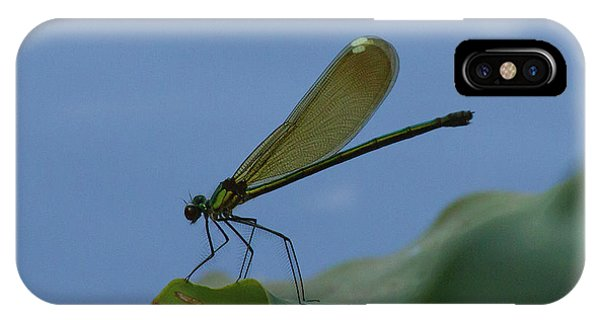 Sparkling Jewelwing #2 IPhone Case