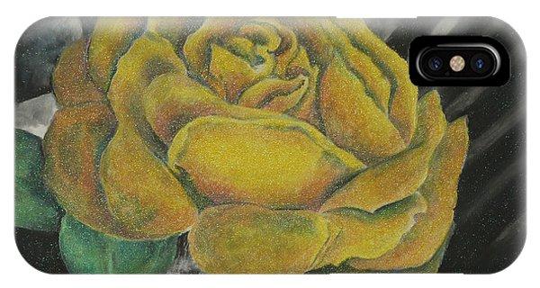 Sparkling Rose IPhone Case