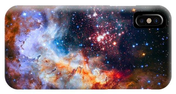 Sparkling Star Cluster Westerlund 2 IPhone Case