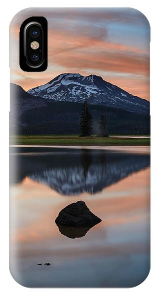 Sparks Lake At Sunset IPhone Case