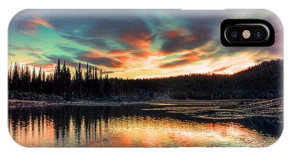 Sparks Lake Hues IPhone Case