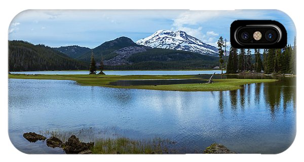 Sparks Lake, Oregon IPhone Case