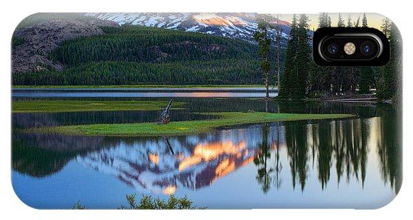 Sparks Lake Sunrise IPhone Case