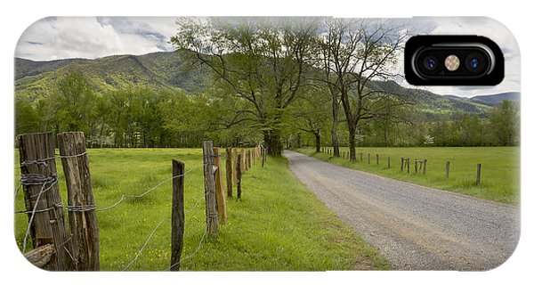 Sparks Lane In Cade Cove IPhone Case