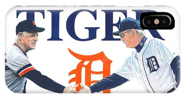 Sparky Anderson And Jim Leyland IPhone Case