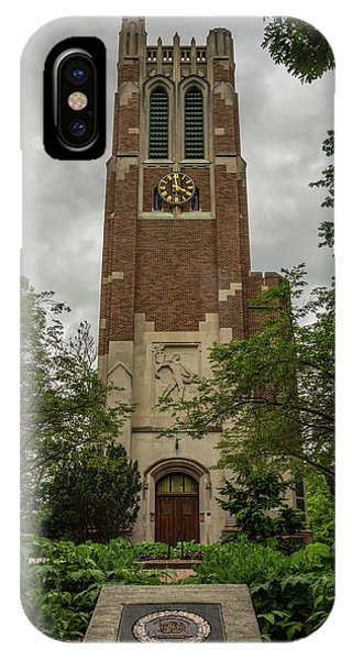 Spartan Bell Tower IPhone Case