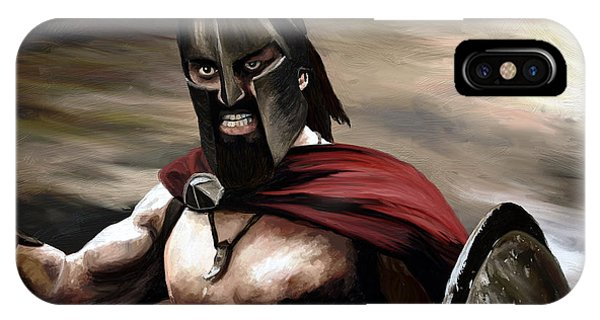 Spartan IPhone Case
