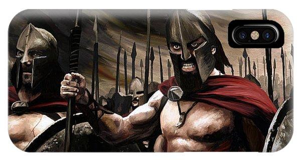 Spartans 300 IPhone Case