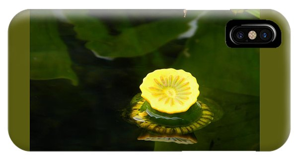 Spatterdock Reflections IPhone Case