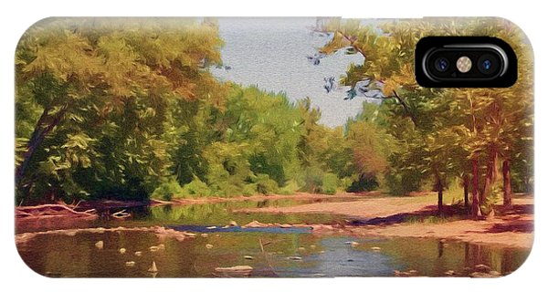 Spavinaw Creek IPhone Case